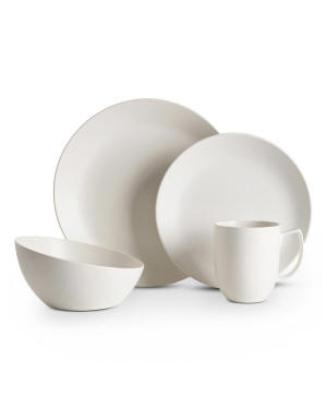 Nambe 4-Piece Place Setting, Starry White